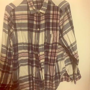 Old Navy Classic Flannel Size XL